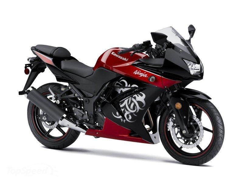 Kawasaki Ninja 250r White. Kawasaki Ninja 250r Special