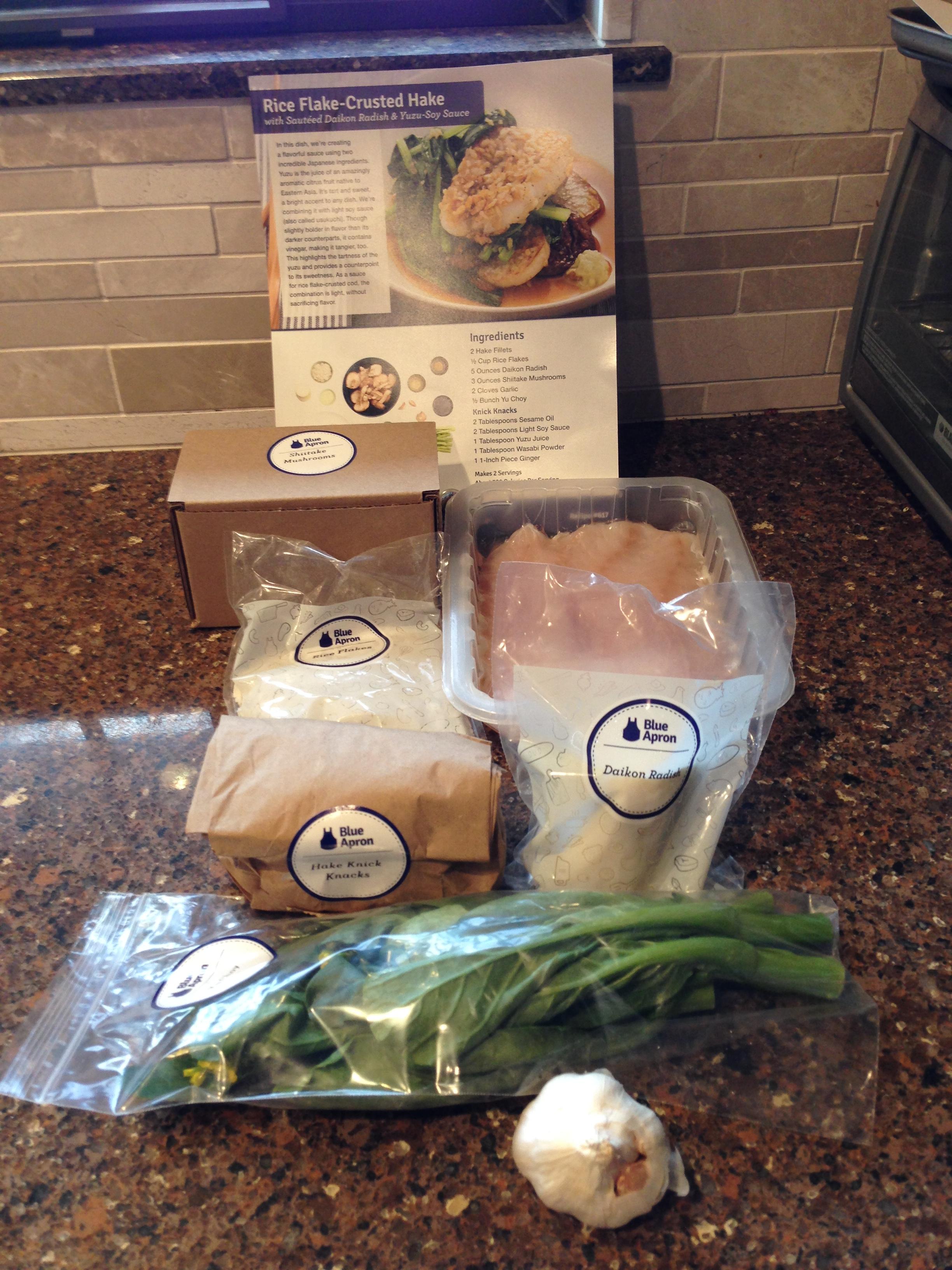 Blue apron yuzu cod - Riceflakecrustedhake2 Riceflakecrustedhake3