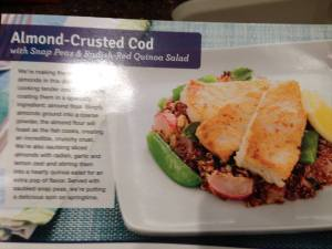 Week1Meal1 Almond-Crusted Cod